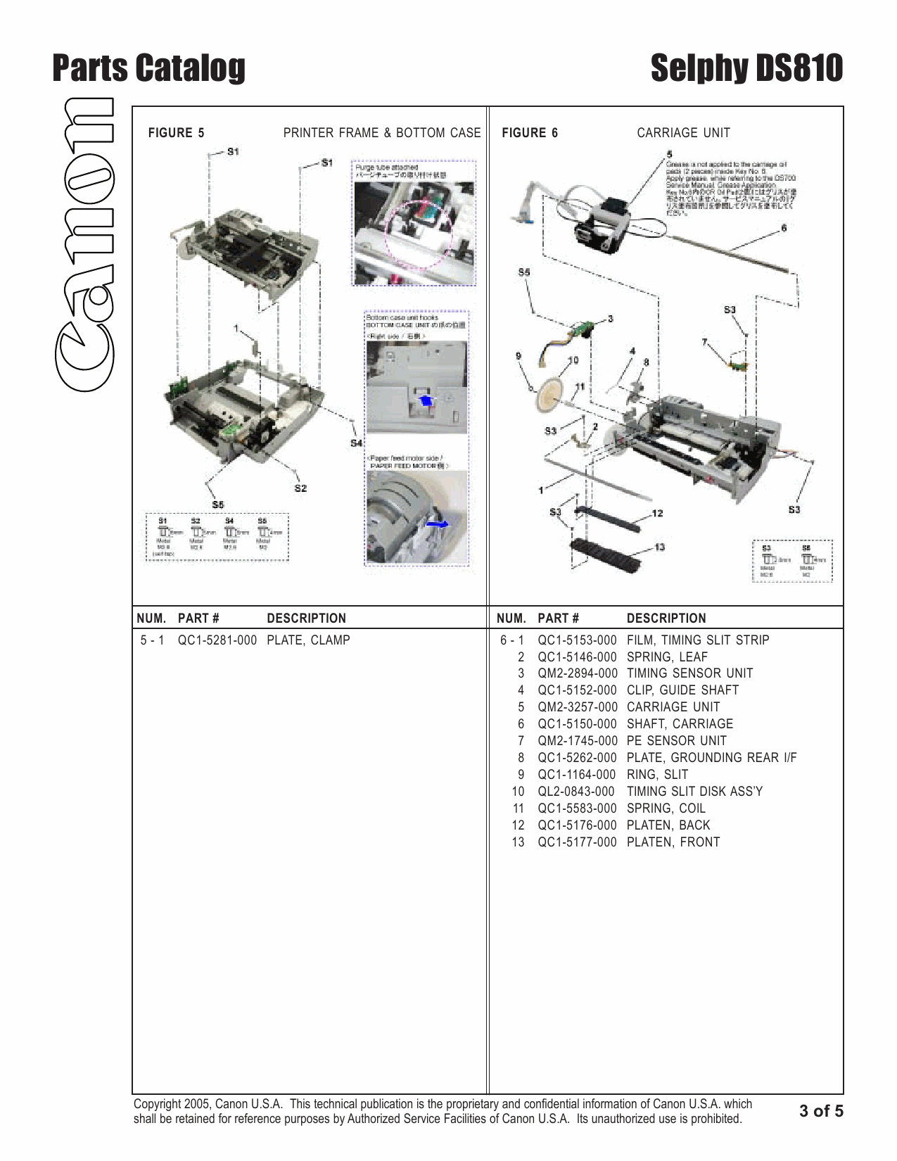 Canon SELPHY DS810 Service and Parts Manual-6